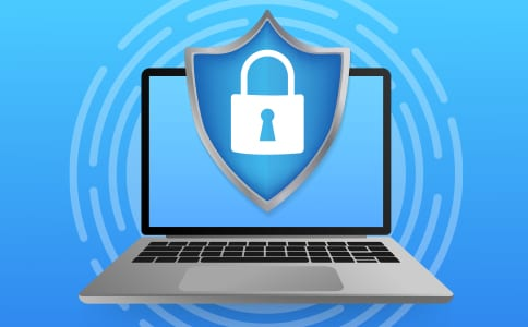 icon security over monitor tech